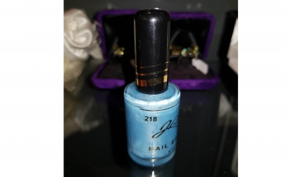 Oja JR Beauty Nail Polish - blue