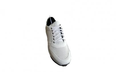 Pantofi sport barbati, alb, galben, gri