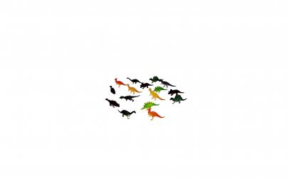 Set 16 dinozauri, inaltime 4 -7 cm