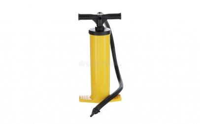 Pompa de aer, manual, countryside,galben