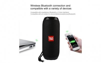 Boxa portabila cu Bluetooth T&G 117