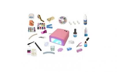 Kit constructie unghii cu gel + cadou