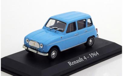 Machete auto Renault 4 - 1964 1:43