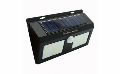 Lampa solara LED cu senzor de miscare