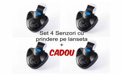 4 Senzori/Avertizori Prindere pe Lanseta