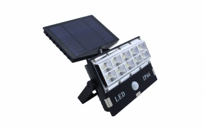 Lampa led cu panou solar