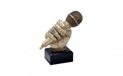 Trofeu - Figurina muzica/microfon