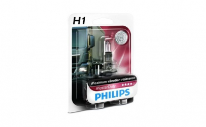 Bec Philips 24v, 70w, H1 masterduty
