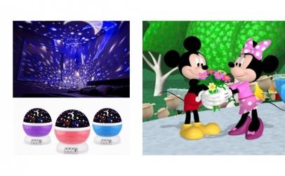Proiector + jucarie din plus Mickey