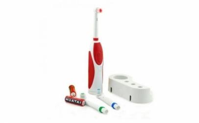 Periuta de dinti electrica cu 2 capete