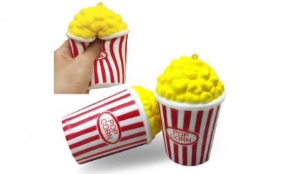 Jucarie Squishy - popcorn parfumat