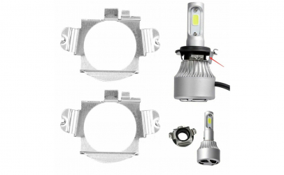 Set 2 adaptoare becuri led auto Mercedes