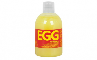 Şampon cu ou pentru păr uscat sau