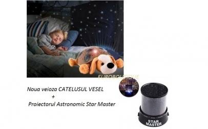 Veioza Catel + Proiector Star Master