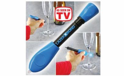 Creion de lipit cu plastic lichid si UV