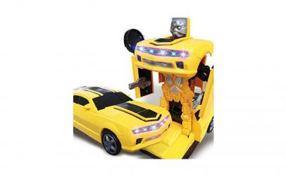 Masina transformer in robot 2 in 1