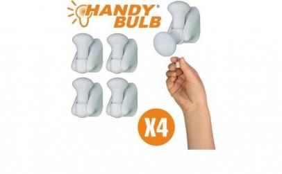 Set complet 4 becuri Handy Bulb LED bec