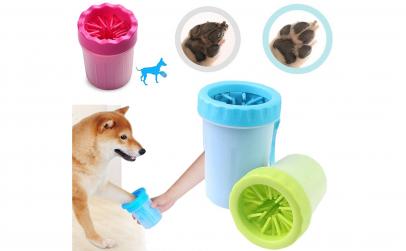 Recipient pentru curatare labute caini