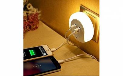 Lampa de veghe LED cu USB