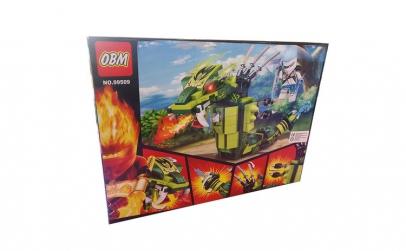 Set de constructii cuburi, Dragon, 224