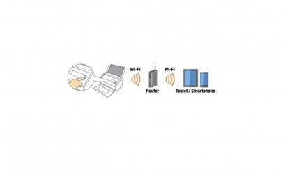 Scanner Fujitsu IX500, Color, Wi-Fi