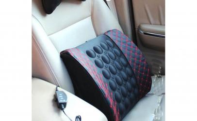Suport lombar cu masaj pentru masina