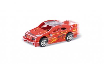 Puzzle 3D. model masina de curse. 24