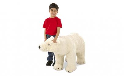 Urs Polar gigant din plus - Melissa and
