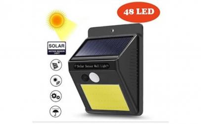 Set 3 x lampa solara cu senzor