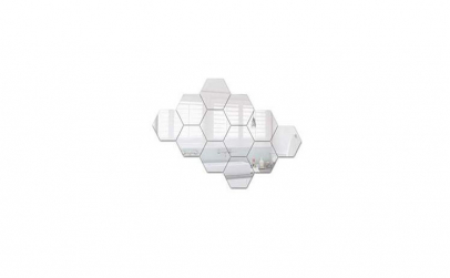 Oglinzi Decorative Stickere Hexagonale