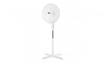 Ventilator pe stativ - 40 cm - alb