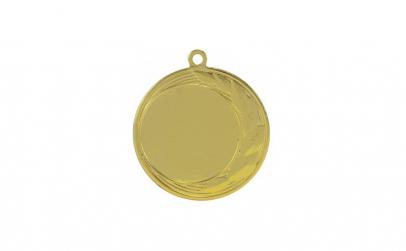 Medalie Auriu 3,5 cm diametru,