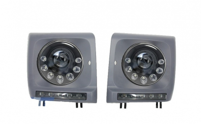 Set 2 faruri Bi-Xenon Look LED