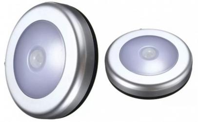 Mini lampa fara fir cu 6 LED