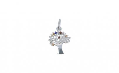 Pandantiv Copacul Vietii , Argint 925,