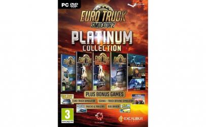 Joc Euro Truck Simulator 2 Platinum