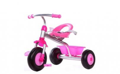 Tricicleta roz pentru fetite