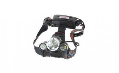Lanterna frontala, Aluminiu, Led 3 x