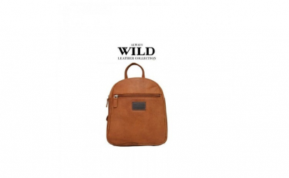 Rucsac piele naturala Wild RUC03 Maron