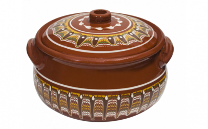Oala ceramica lut 5.5l Troeanska Sarka