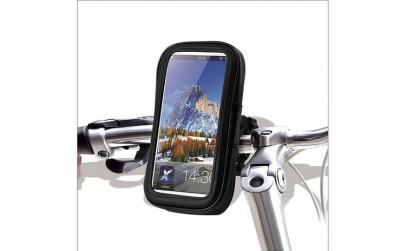Suport telefon bicicleta / moto cu husa