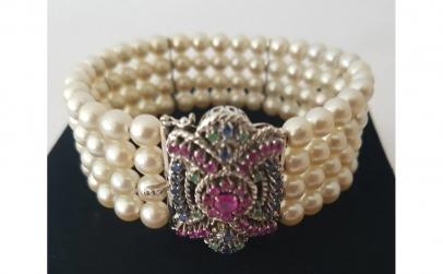 Bratara din Aur cu Perle