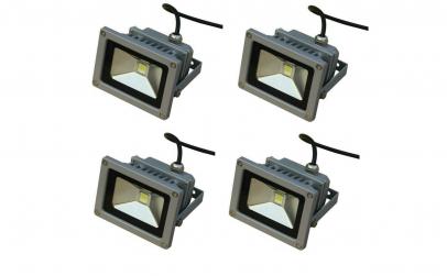 Pachet 4 proiectoare 10w LED
