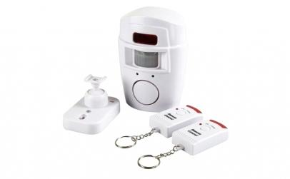 Alarma wireless, senzor, 2 telecomenzi