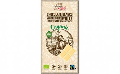 Ciocolata alba BIO, 100 g Chocolates