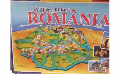 Sa descoperim Romania - joc educativ