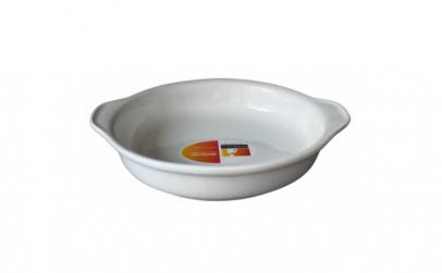 Platou rotund ceramica cu toarta
