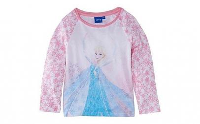 Bluza cu maneca lunga Disney Frozen Alb