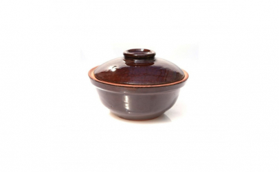 Oala ceramica lut 500 ml cafea 016332
