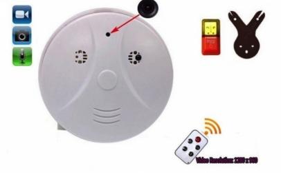 Camera spion- detector fum
